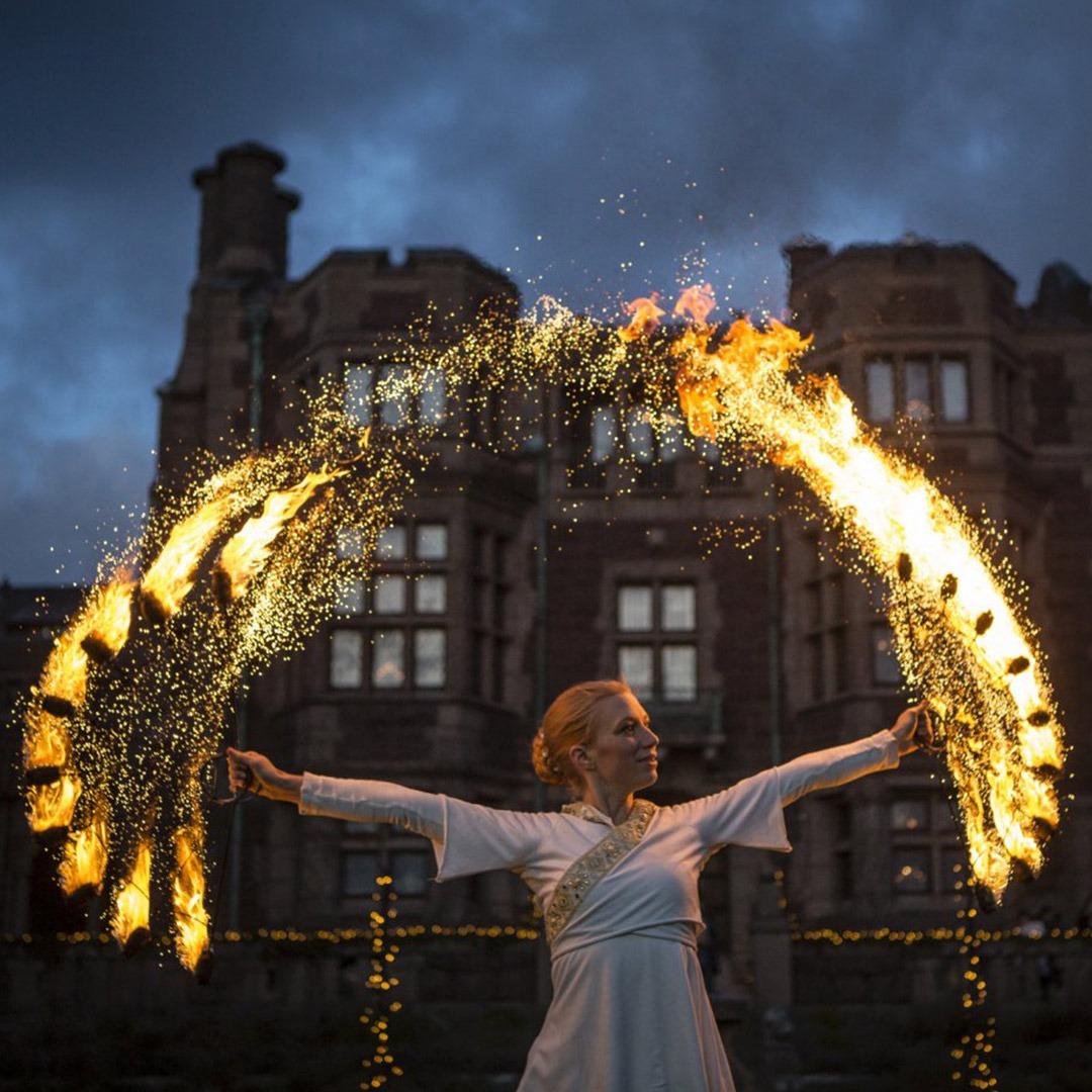 Eldshow över all förväntan – Illumina